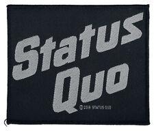 Status Quo - Logo Patch 10cm x 8cm