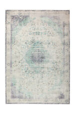 Arte Espina Vintage Teppich Bunt Retro Elfenbein Creme Mint Lila 140X200cm