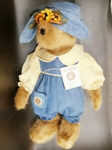Boyds Head Bean Collection Best Dressed Series SUNSHINE Q BEARSLEY w/ tag