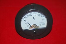 Dc 0 1a Round Analog Ammeter Panel Amp Current Meter Dia 90mm Direct Connect