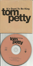 TOM PETTY It's Good to be King / Cabin Down EUROPE PROMO CD single USA seller