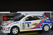 Ford Focus WRC 1:18 model car