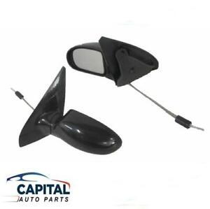 Automotive Mirrors ispacegoa.com Pair LH+RH Manual Door Mirror ...