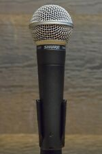 Shure SM58 Legendary Unidirectional Cardioid Dynamic Pro Vocal Microphone.