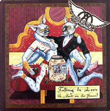 Aerosmith ‎CD Single Falling In Love (Is Hard On The Knees) - Promo - Europe