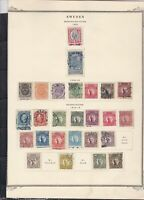 sweden 1900-19 stamps page ref 18085