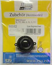 ESU 50332 - Lautsprecher rund / 4 Ohm / D=23mm - für Loksound V 4.0 - NEU - OVP