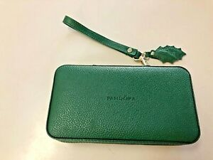 Pandora Green Travel Jewelry Case, NICE