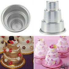 Party DIY Mini 3Tier Cupcake Pudding Cake Chocolate Baking Pan Mold Kitchen Tool