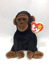 Vintage Original Ty Beanie Baby Congo The Gorilla Ape