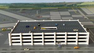 Parkhaus Multi-Story Car Park 1:500 Herpa Wings Flughafenzubehör