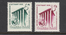 Germany Sc B138-B139 MNH. 1939 Horticultural Exhibit in Stuttgart cplt, F-VF