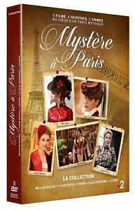Mystere à Paris  Coffret 5 DVD (5 Films Thriller)  ( Envoi en suivi) NEUF
