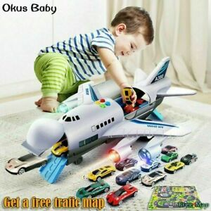 Childrens Toy Aircraft Large Size Passenger Plane Kids Air Freighter Toy Car