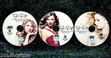TAYLOR SWIFT In-Store Promotional Reel 43 Music Videos 3 BLU-RAY DVD Set