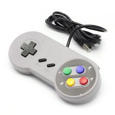 Retro Super Nintendo SNES jopypad Controlador Usb Para Controladores Win PC/MAC NUEVO