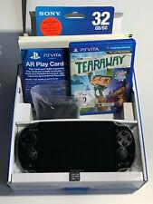 Sony Playstation PS VITA inkl. 32Gb Speicherkarte, Tasche, Grip, OVP,TOP Zustand
