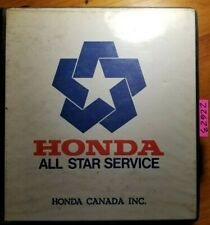 1990 Honda Motorcycle Scooter Atv Common Service Manual Ns 161 12/89