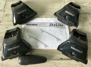 Yakima Skyline Towers - X4 - With Tool and Instructions - Great Used Condition!!
