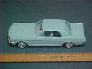 AMT 1965/66 Ford MUSTANG Coupe - Dealer Promotional Model Car Light Blue - RARE