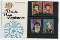 GB 1972 British Polar Explorers Presentation Pack VGC. Stamps. Free postage!