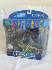 2011 NEW Halo Minimates M12 LAAV Warthog Gauss Cannon & Noble Team George