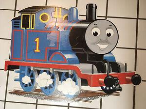 "2006 Ravensburger Thomas & Friends 24 pieces Thomas Shaped floor puzzle 36 x 27"""