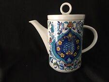 Vintage Kaffeekanne Villeroy und Boch Izmir 1973 Geschirr Porzellan mid century