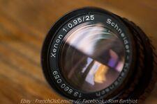 Schneider Xenon 25mm f/0.95 [Leica, Angenieux, Cooke]