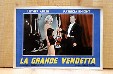 LA GRANDE VENDETTA fotobusta poster Adler Patricia Knight The Magic Face H27