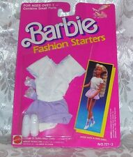 Mattel Barbie Doll 1989 Fashion Starters Clothes Fashion #721-3 Nip Moc