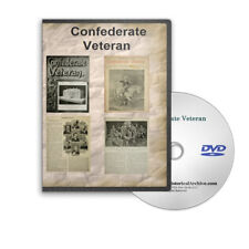 Confederate Veteran Magazine 1893-1923 - Civil War 31 Annual Volumes DVD - C775