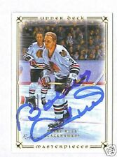 Bobby Hull signed 2008-09 Upper Deck Masterpiece card