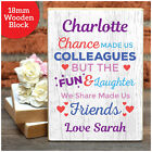 Personalised Gifts for Work Colleagues Office Workers Work Friends Christmas Her