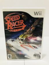 Speed Racer: The Videogame (Nintendo Wii, 2008) Free Shipping