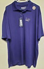 Bermuda Sands Wick Away Polo Short Sleeve Purple Golf Shirt Size Xl Perfect