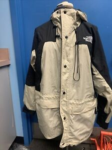 North Face Summit Series Mens Gore Tex XCR Beige And Black  XL
