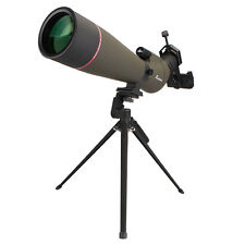 20-60X80mm Zoom Spotting Scopes Fully multi-coated Telescopes for Bird Watching