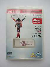 Kingston 4 GB USB 2.0 Flash Drive With Preloaded Michael Jackson Movie PC Mac