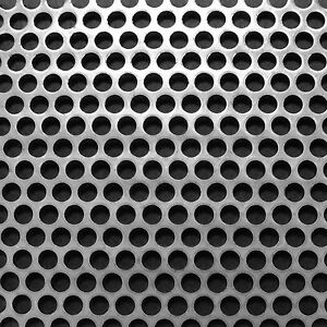 Stainless Steel 304 Perforated 2m x 1m x 1.5mm R4 T6 520115043 BIN118