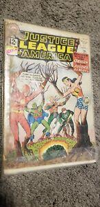 RARE Justice League of America No. 9 DC Feb 1962 Origin of the Justice League