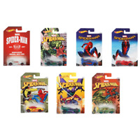 Hot Wheels Marvel Spiderman Diecast Vehicles NEW Homecoming Set Assortment DWD14