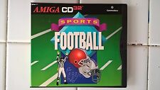 Sports Football For CD32, BRAND NEW, Commodore Amiga CD32-3001