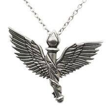 Lucky Girl with Wings Necklace Freedom Flight Pendant Women Jewelry By Controse