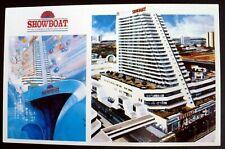 1980s+ Showboat Hotel, Boardwalk & Delaware, Atlantic City NJ