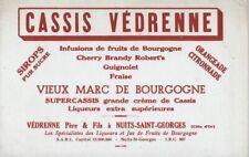 BUVARD  118001 CASSIS VEDRENNE 17-LIQUEURS DIVERSES *02