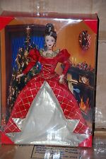 HOLIDAY TREASURES BARBIE DOLL 1999, OFFICIAL BARBIE COLLECTOR CLUB EXCLUSIVES