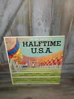 """College Marches at Halftime U.S.A."" 1963 Stereo LP  all inter-conference band"