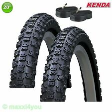 01022007K 2 x Kenda K-50 Fahrradreifen Decke 20 x 1.75 47-406 + 2 Schläuche