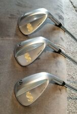 Scott Golf Forged Wedge Set of 3, $ Laser etched, very pretty / 52,56, 60 set